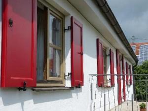 Fensterläden Klappladen Referenz Pfaffenhausen